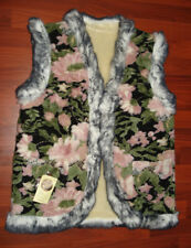 NEW!!! Ukrainian Sheepskin Vest gilet merino Sheep Wool Size XL 48