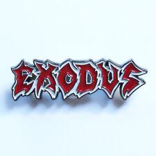 EXODUS-LOGO METAL PIN BADGE