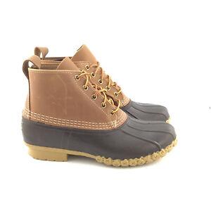 """LL Bean Mens Bean Boots, 6"""" Shoe Width M"""