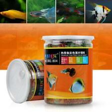 Ornamental Fish Food Guppies and Small Medium Tropical Fishes Flake Feed