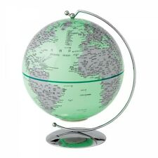 The Globe Collection A27304 Green Light-Up Globe