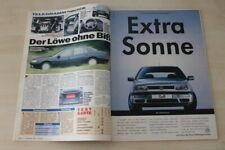 Auto Bild 10910) Peugeot 605 2.0 16V SRI mit 132PS im TEST auf einer Seite