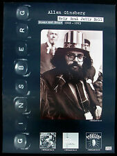 ALLEN GINSBERG Holy Soul Jelly Roll Promo Poster Mint- 1994 ORIGINAL!