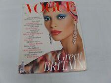 Vogue UK December 2017 Magazine Kate Moss Victoria Beckham Naomi Campbell