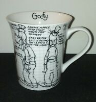 Goofy Sketchbook Mug / Disney 2008 11 Oz Coffee Tea Home Office Decor