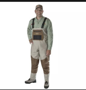 CADDIS Systems Deluxe Breathable Stockingfoot Chest Waders CA12905W Open Box