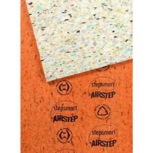 Underlay Carpet Airstep Bridgestone Foam Stepsmart Orange DIY Flooring 1.8m x 2m