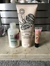 The Body Shop Cassis Rose M&S Comforting Shea Body Butter & I Love Strawberries