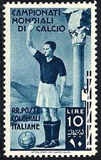 Italy Soccer Stamps