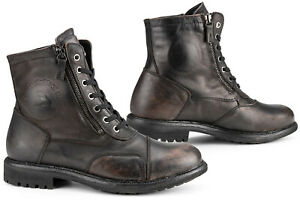 Falco Aviator Motorcycle Boots Shoes Cafe Racer Vintage Waterproof