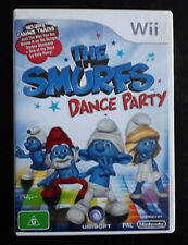 Wii - The Smurfs: Dance Party (Includes Manual)