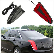 black Car Auto Roof Radio AM/FM Signal Booster Shark Fin Aerial Antenna NEW