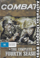 Combat The Complete Fourth Season DVD NEW, FREE POSTAGE WITHIN AUSTRALIA REG ALL