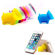 2Pcs Pig Suction Silicone Phone Stand Holder For iPhone 7 6s plus 5s Samsung HTC