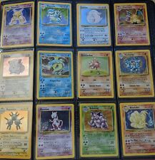 Pokemon 10 Card Lot - Vintage WOTC Sets 1st Edition, Rare, Holo Rare, Shadowless