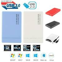2.5 inch SATA to USB 3.0 Adapter HDD SSD Case Hard Drive Enclosure Hard Disk Box