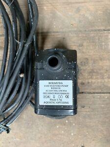 Bermuda BER058 15W  Feature Pond Pump