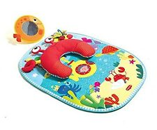 Tiny Love Tummy Time Fun Activity Mat - Under the Sea - New! Free Shipping!