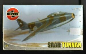 Airfix 1/72 Saab Tunnan. VG Condition.  Checked and Complete.