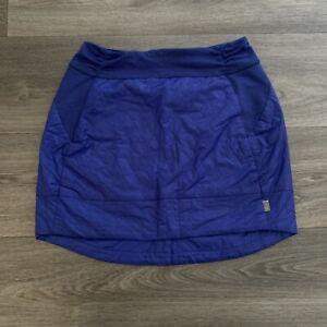 Mountain Hardwear Women's Blue Trekkin Insulated Skirt Size Small
