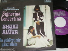 "7"" - Shuki & Aviva / Signorina Concertina & Du gehörst mir ganz allein # 4111"