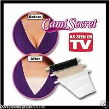 Cami Secret Pack 3 colors As Seen On TV Modesty Panels Women's Camisoles comfort