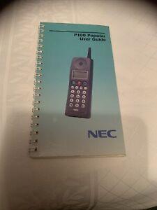 NEC P100 USER GUIDE Used