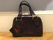 Hobo International Gianna Handbag Aubergine Purple Leather New With Tags