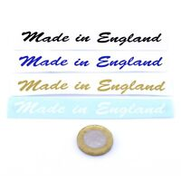 Made In England Sticker Custom Car Bike Cafe Racer Vinyl Decal 100mm