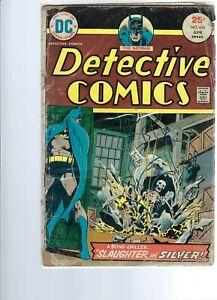 DETECTIVE COMCS  - BATMAN  446  - BRONZE AGE  DC COMICS