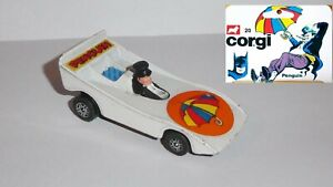# 20 CORGI JUNIOR VOITURE DU PINGOUIN PENGUIN MOBILE BATMAN 1979