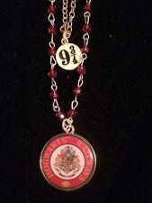 Harry Potter Hogwarts Railways Platform 9 3/4 Universal Studios 22� Necklace New