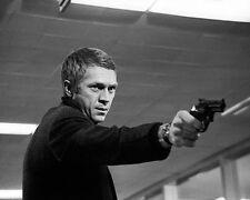 Steve McQueen Bullit Shooting Scene 10x8 Photo
