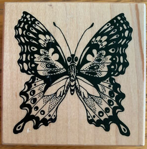 PSX Butterfly Rubber Stamp G-055