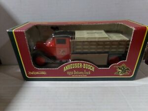 Ertl Anheuser-Busch 1930 Delivery Truck Metal Bank 080921DMT4
