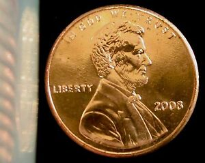 2008-P Philadelphia Mint Lincoln Memorial Cent BU