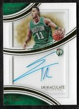 Evan Turner 2015-16 Immaculate Collection Shadowbox Autograph #SSET /99 Celtics