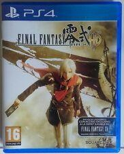 Final Fantasy Type-0 HD. Ps4. Fisico. Pal esp