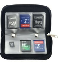 Tarjeta SD 22 Funda para Estuche tipo Billetera Tarjetas de almacenamiento SD Tarjeta Xd bolsa caso cámara
