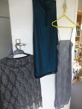 2 slim line dresses 1 lace pencil skirt sz 10 - 12 Miss Shop Vicky Vale stunning