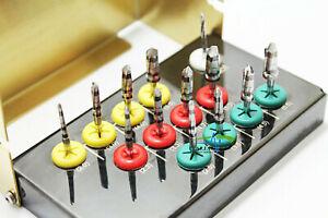 Original Den sah Bur Drills Dental Implant Kit 13PC CE