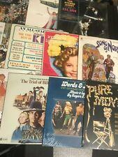 18 SEALED Soundtrack Movie Musical LOT Record lp original vinyl album