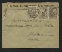 DR 3 x 262, 10 x 256 auf Briefumschlag #m699
