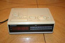Sony Dream Machine Digital Alarm Clock Radio (Beige, Model No. ICF-C2W)