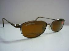 Genuine Diseñador Gafas Marcos por Cool Clip CC820 CLIPON Gafas de sol en Marrón 585