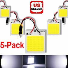 5Pack 48 SMD COB LED T10 4W 12V Light Car Interior Panel Lights Dome Lamp Bulb-s