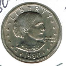 1980-P Philadelphia Susan B Anthony Uncirculated Business Strike Dollar Coin!