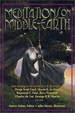 Karen Haber; John Howe  Meditations on Middle-Earth  US HCDJ 1st/1st NF