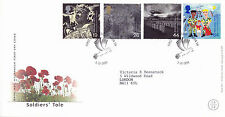 5 October 1999 Soldiers Tale Royal Mail First Day Cover London Sw Dove Shs (a)
