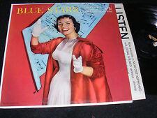 Wonderful Vintage Nostalgia Cover LP BLUE STARR Kay Starr RCA 1957 Black Label